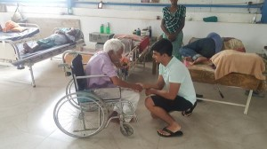 17-year-old CEO helping the elderly