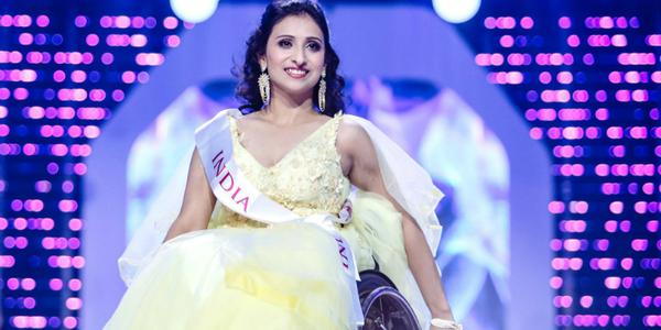 The story of Miss Wheelchair world winner