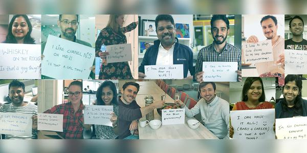 Freshworks – breaking gender stereotypes creatively