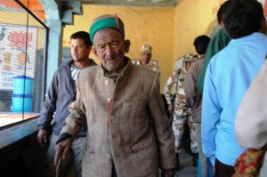 India's first voter ready to vote again at age of 100