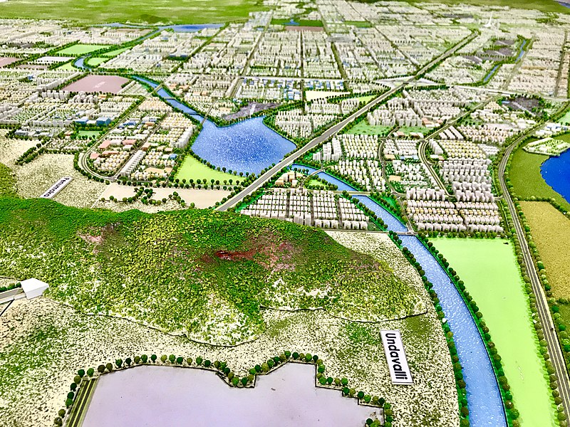 Amaravati becoming a futuristic capital