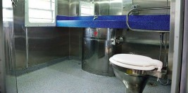 Railways to start new vacuum toilets