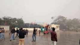 Delhi's fog cannons to deal with air pollution