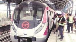 Interesting facts about Delhi Metro's Magenta Line