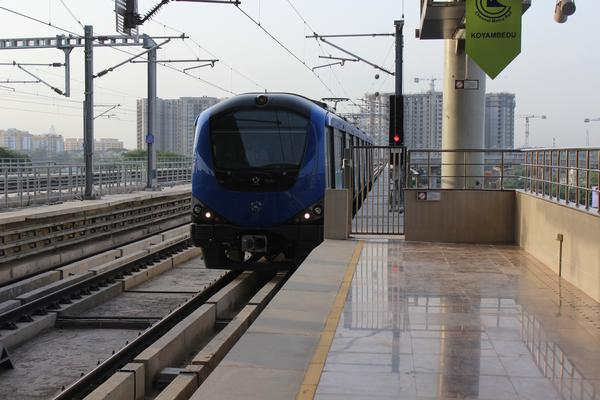 Chennai metro generating its own power