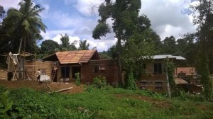 Man built house from waste