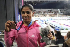 Hyderabad girl gets India's First Gymnastics Medal