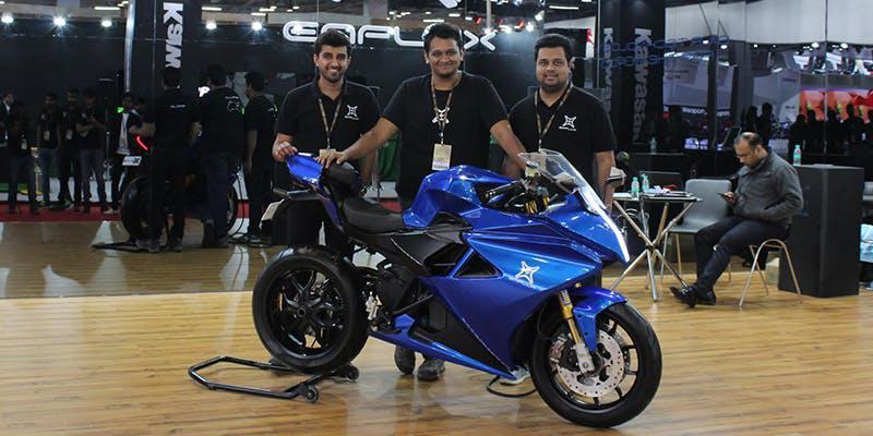 Emflux – An Electric superbike start-up
