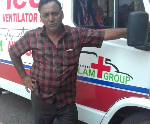 Ambulance Driver drove 425 Km in 5 Hours to save a life