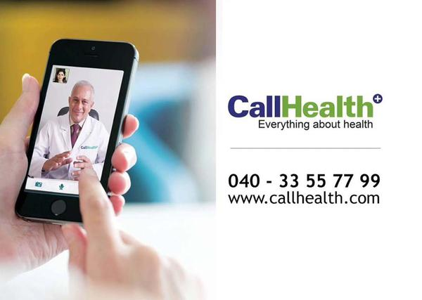 CallHealth provides healthcare at your doorsteps