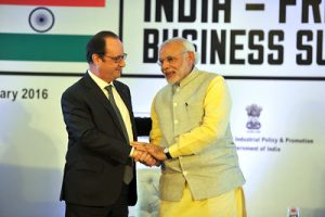 India-France relations improve, 14 agreements signed