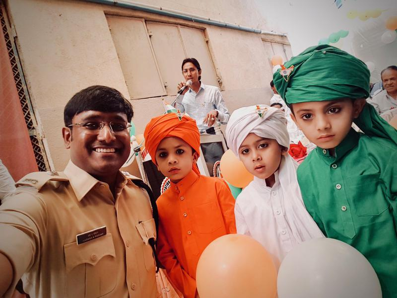 IPS officer inspiring youngsters to fight terrorism