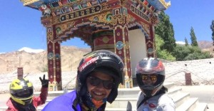 Youngest biker girl to cross Khardung-La