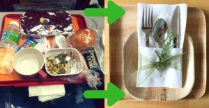 Biodegradable cutlery for desi airlines