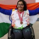 Haryana girl gets gold at Para Athletics Grand Prix