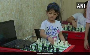 4-year-old genius at Chess