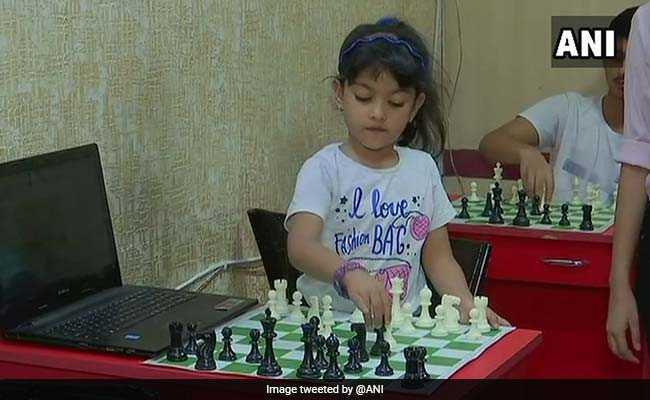 4-year old genius at Chess