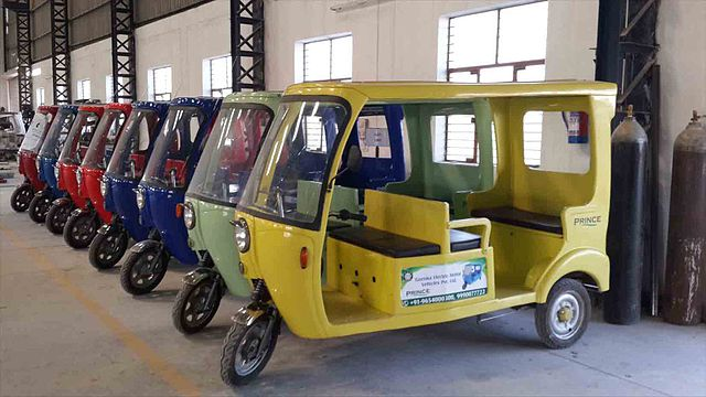 Delhi metro's electric vehicles are here