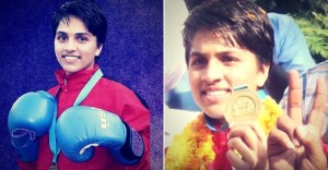 Auto driver's daughter wins boxing gold medal