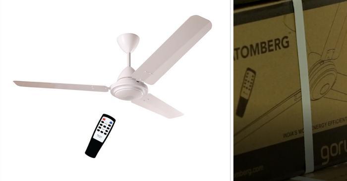 India's most energy efficient fans