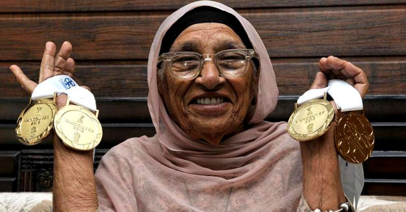 Mann Kaur – Winning medals at the age of 102