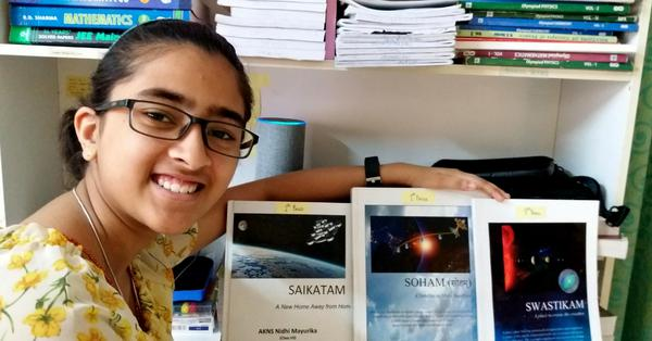 15-year-old girl wins NASA contest thrice
