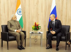 India and Russia Bilateral Summit