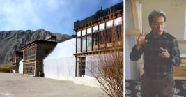 Solar heated mud huts