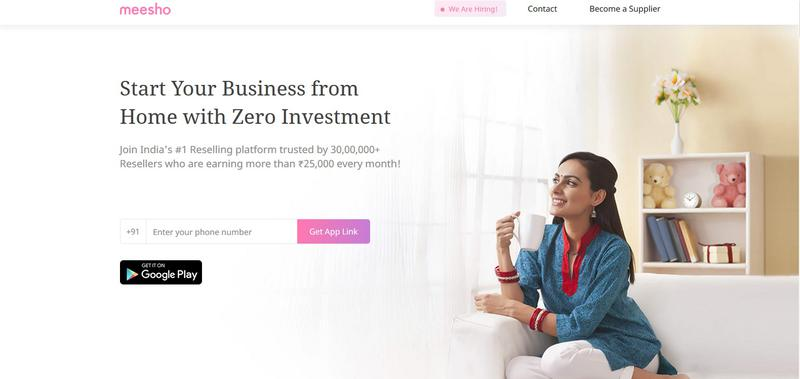 Meesho – Largest Reselling Platform in India