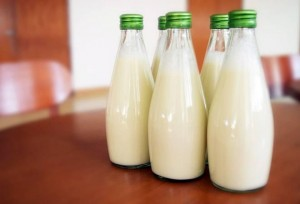 This invention allows smartphone to check milk purity