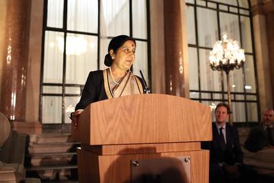 Pak must stop Terror: Sushma