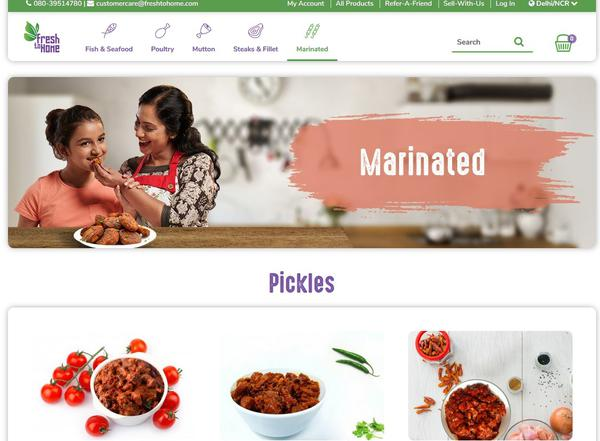 FreshToHome delivers meat to your home