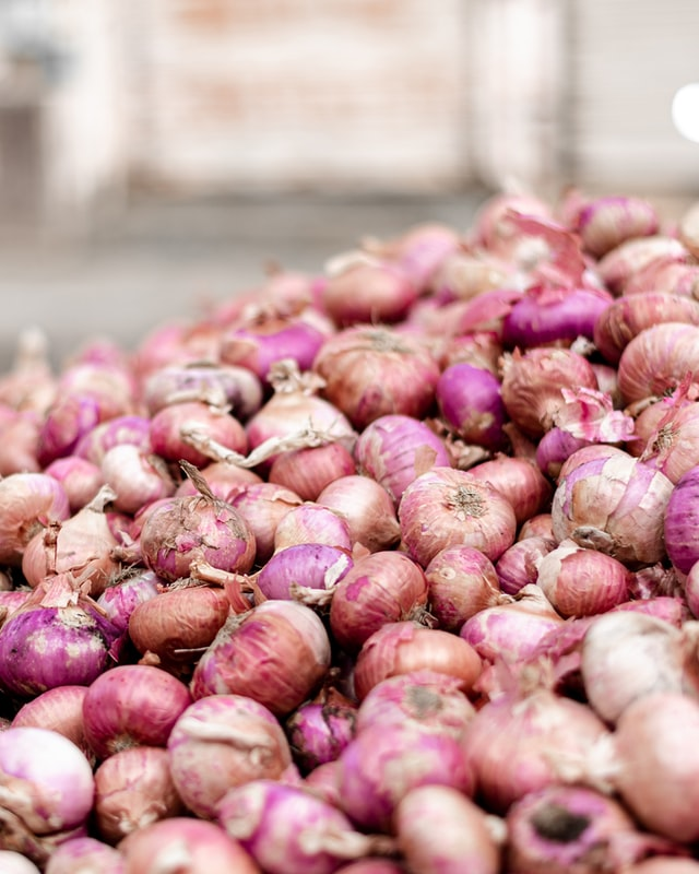 Farmer's protest on onion prices