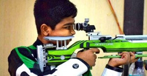 Youngest gold medalist in rifle shooting