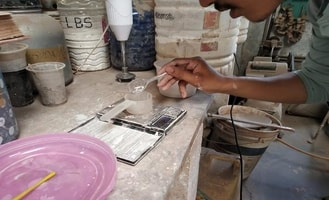 Eco-friendly Tableware with ceramic waste