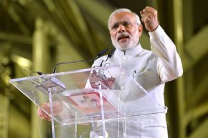 PM gets a clean chit for Mission Shakti Address