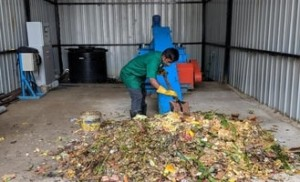 Kitchen waste turns to biogas, helps Eatery cook