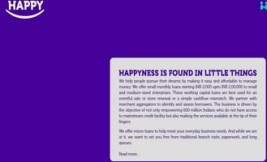 Happy – A digital lending startup