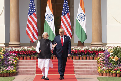 Modi overtakes Trump in fan following
