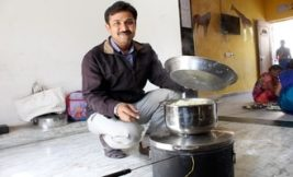 Solar stove lowers cooking costs