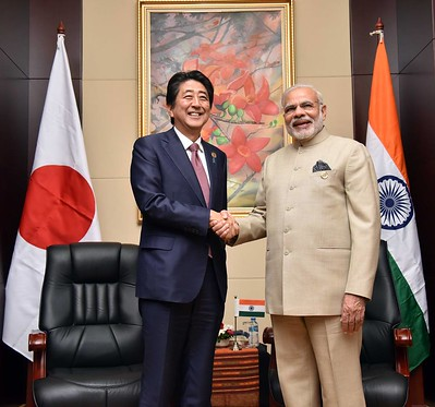 Ties of India and Japan are growing: PM Modi