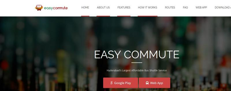 EasyCommute facilitates simple daily commuting