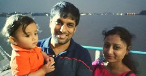 This working dad is IAS Topper