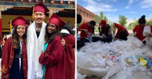 Greenhouses made with plastic waste in Ladakh