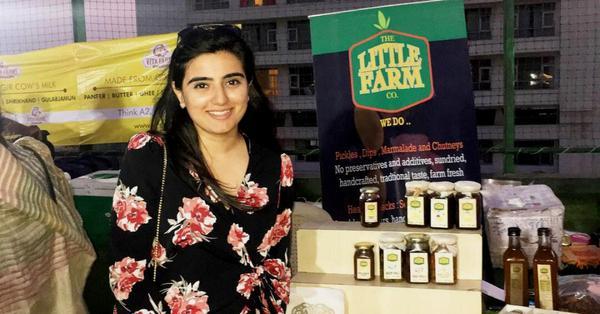 Little Farm Co. sells fresh pickles