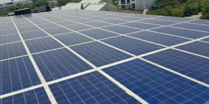 Low-cost Solar roofs to help homes and e-carts