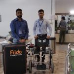 Frido, A Foldable Wheelchair
