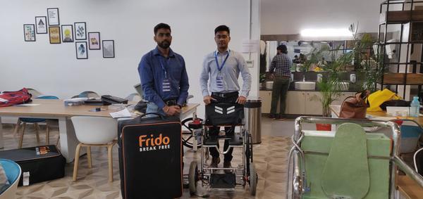 Frido, A Foldable Wheelchair