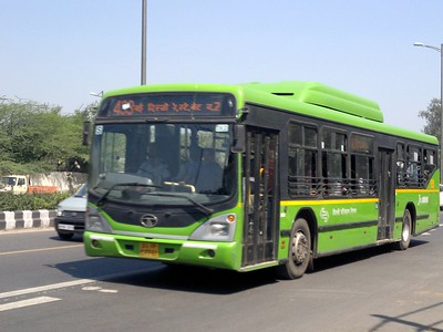 Free bus ride scheme increases female commuters in Delhi