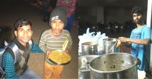 Hyderabadi youth feeds 2,000 people daily